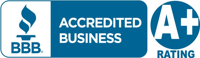 Better Business Bureau Accredited Business, A+ rating